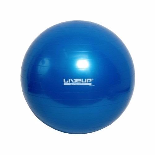 Bola Suiça 65 Cm Pilates Yoga Fitness Live Up + Bomba Grátis - R  61 ... c1ab01ad6e46d