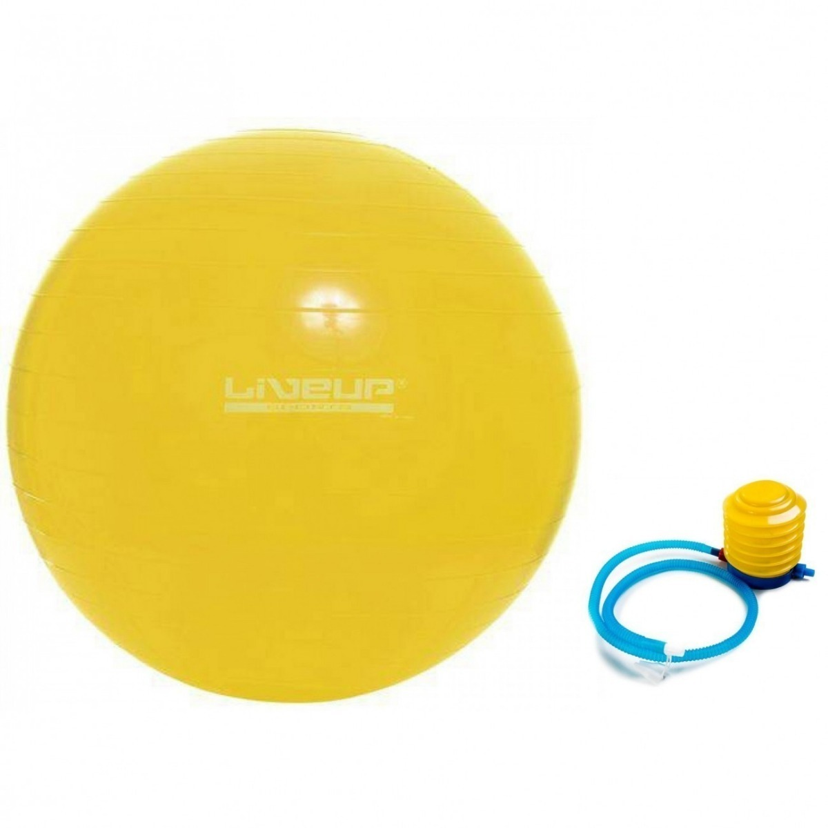 0eb9ecdd56f2c bola suiça 75 cm c  bomba liveup - yoga pilates fitness. Carregando zoom.