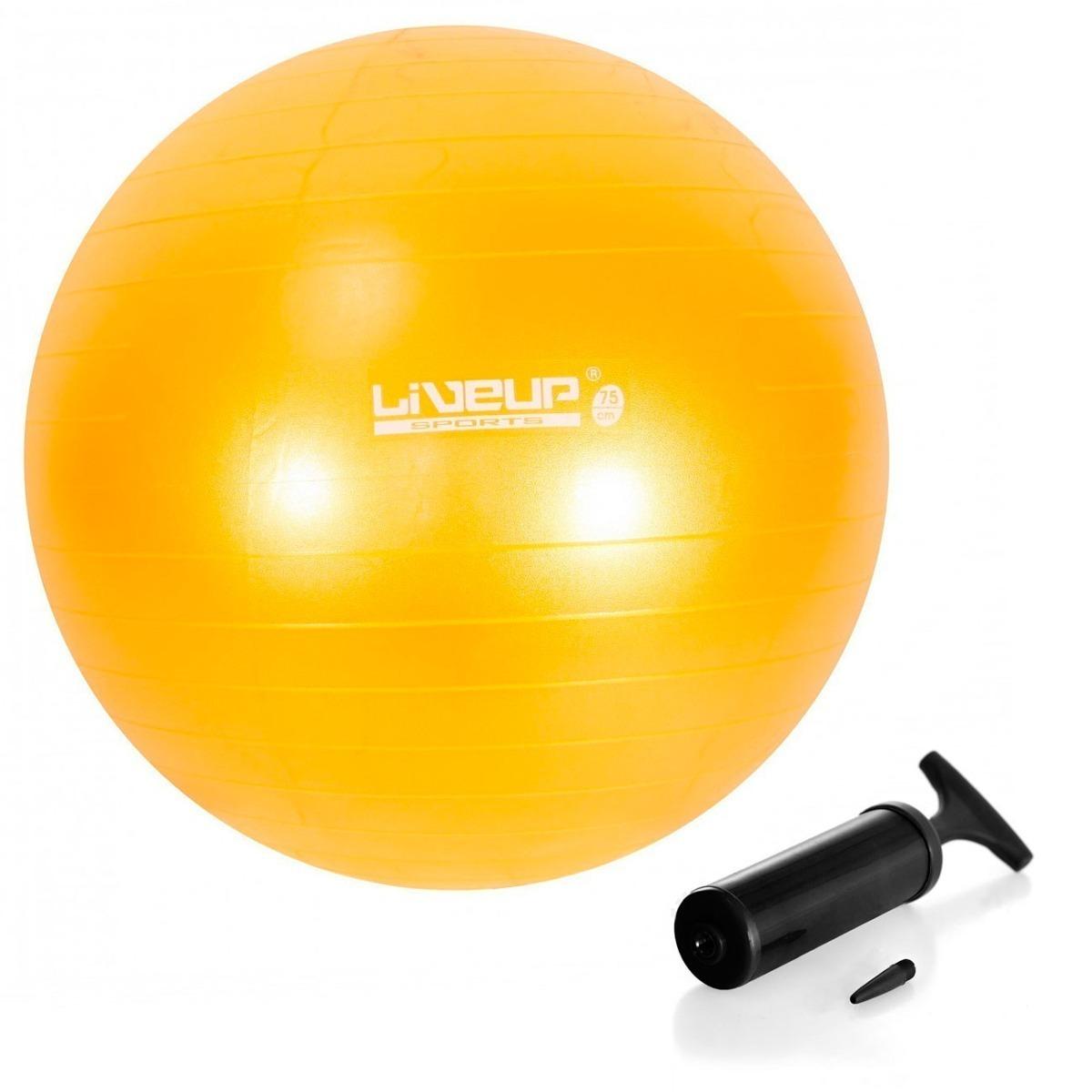 d8538cbc091ba Bola Suiça 75 Cm Premium C  Bomba Live Up Yoga Pilates - R  71