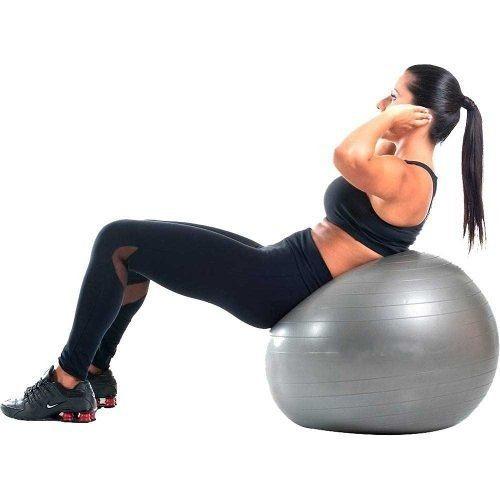bola suiça pilates yoga abdominal fitness 65cm bomba grátis · bola suiça  fitness 84e64e249d136