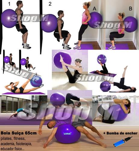bola suiça fitness ação