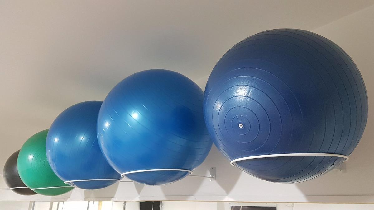 Bola Suíça Inflável - Kit 5 Peças - Pilates   Fisioterapia - R  175 ... 1721234171dd3