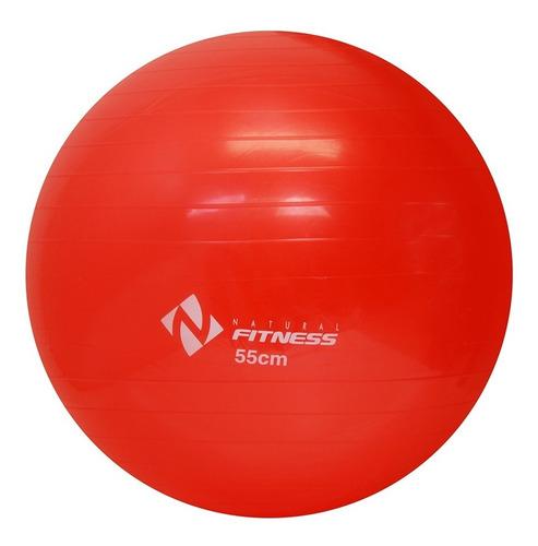 bola suíça para exercícios de pilates - tamanho 55cm