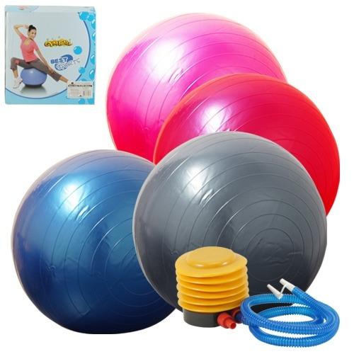 bola suiça para pilates e ginastica gym ball 65cm ate 150kg