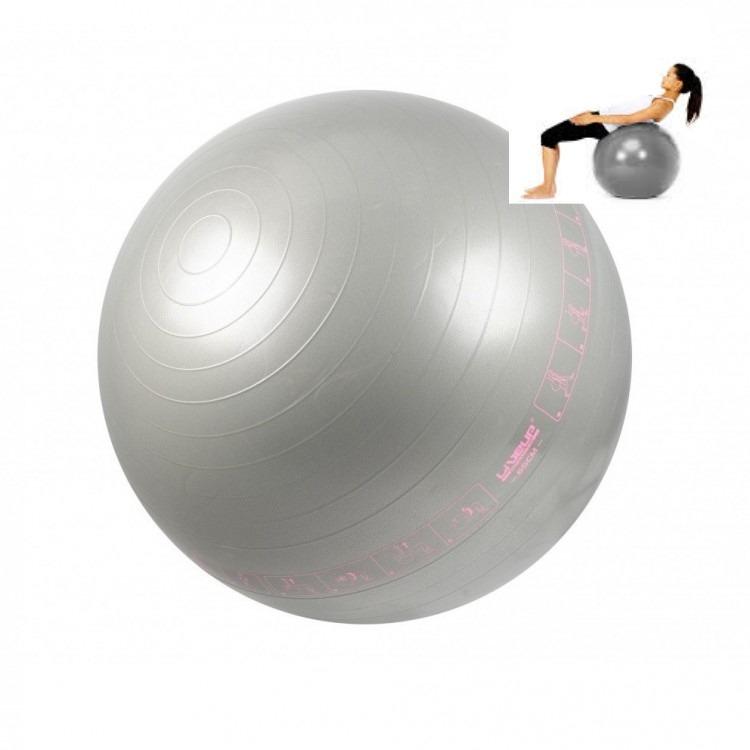 Bola Suíça Pilates 65 Cm Liveup Antiestouro Yoga Iluistração - R  52 ... de39f5ebc3520