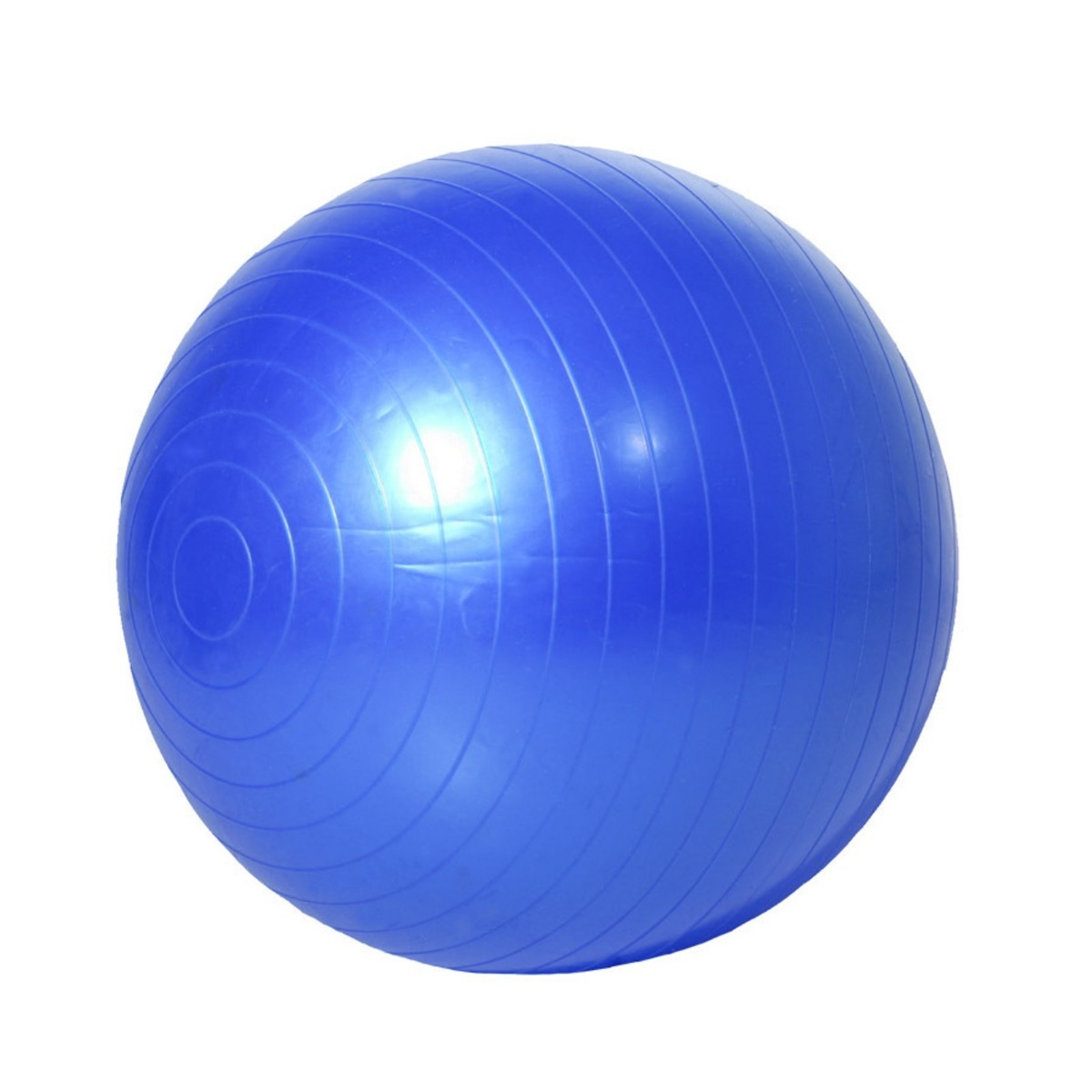9f2fba1354 bola suiça pilates fisioterapia fitness yoga azul c  bomba! Carregando zoom.