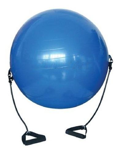 bola suiça pilates yoga + puxador corda