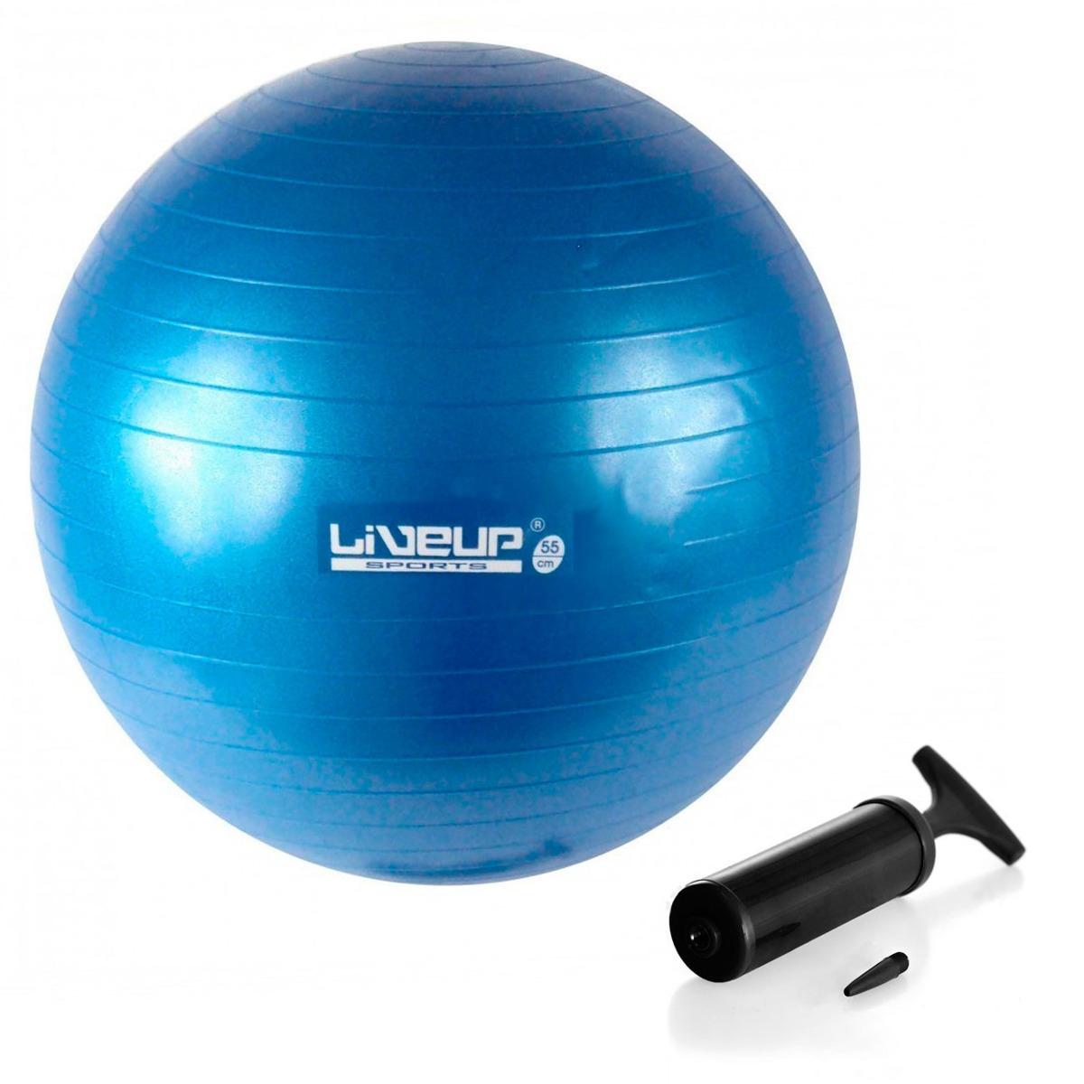 b21455ce2e bola suíça premium 55 cm azul + mini bomba de inflar. Carregando zoom.