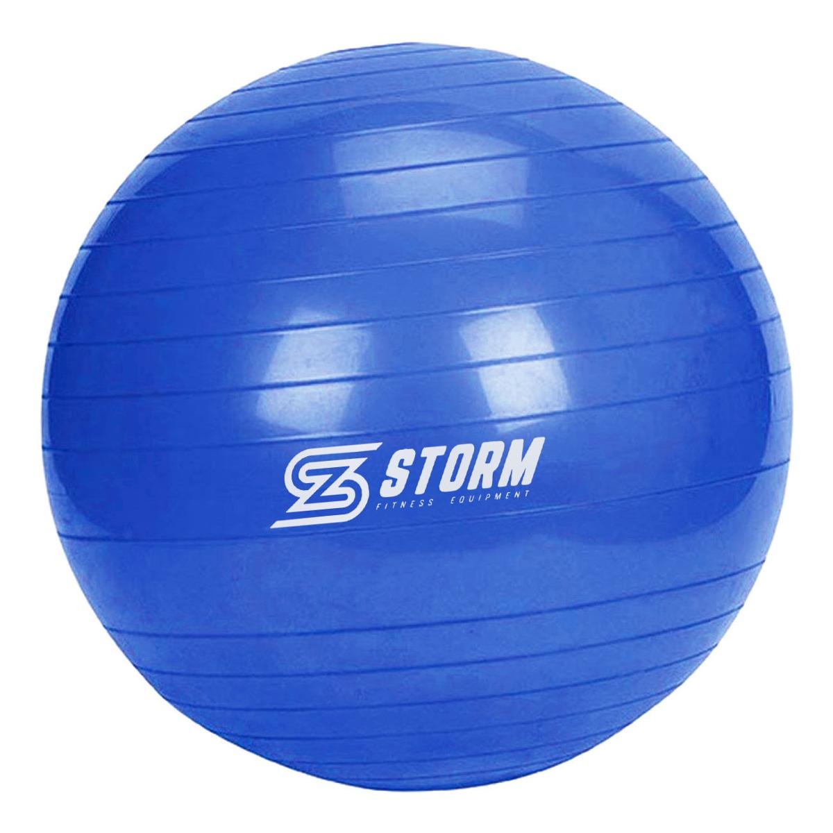 e56a65b048 bola suíça premium 65 cm azul + bomba de inflar. Carregando zoom.