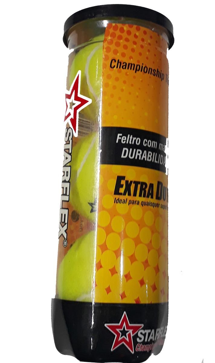 bola tenis tubo c  3 und. starflex extra duty maior durabili. Carregando  zoom. af9ccd86c9a06