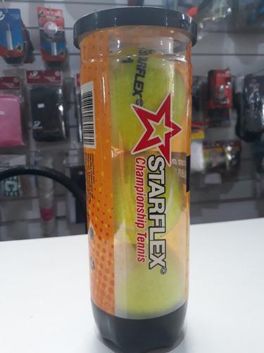 Bola Tenis Tubo C  3 Und. Starflex Extra Duty Maior Durabili - R  29 ... 99fb0685de82a