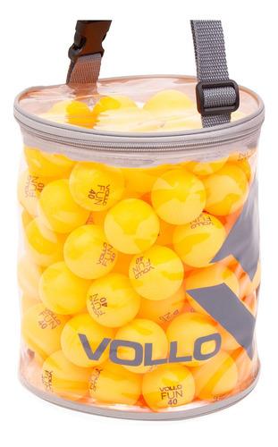 bola tênis de mesa vollo bolinhas ping pong 100 unidades