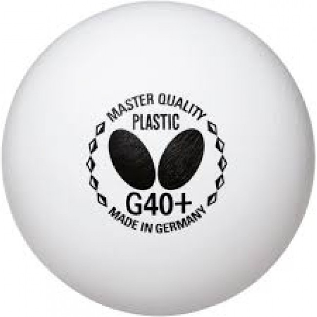 a2e3a9399bb8e Bola Tênis De Mesa Butterfly Plastico G40+ 1  3 Bolinhas - R  31