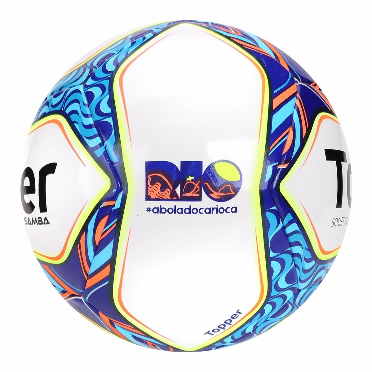 ff7438fb921db bola topper futebol society oficial - grama sintética samba. Carregando zoom .