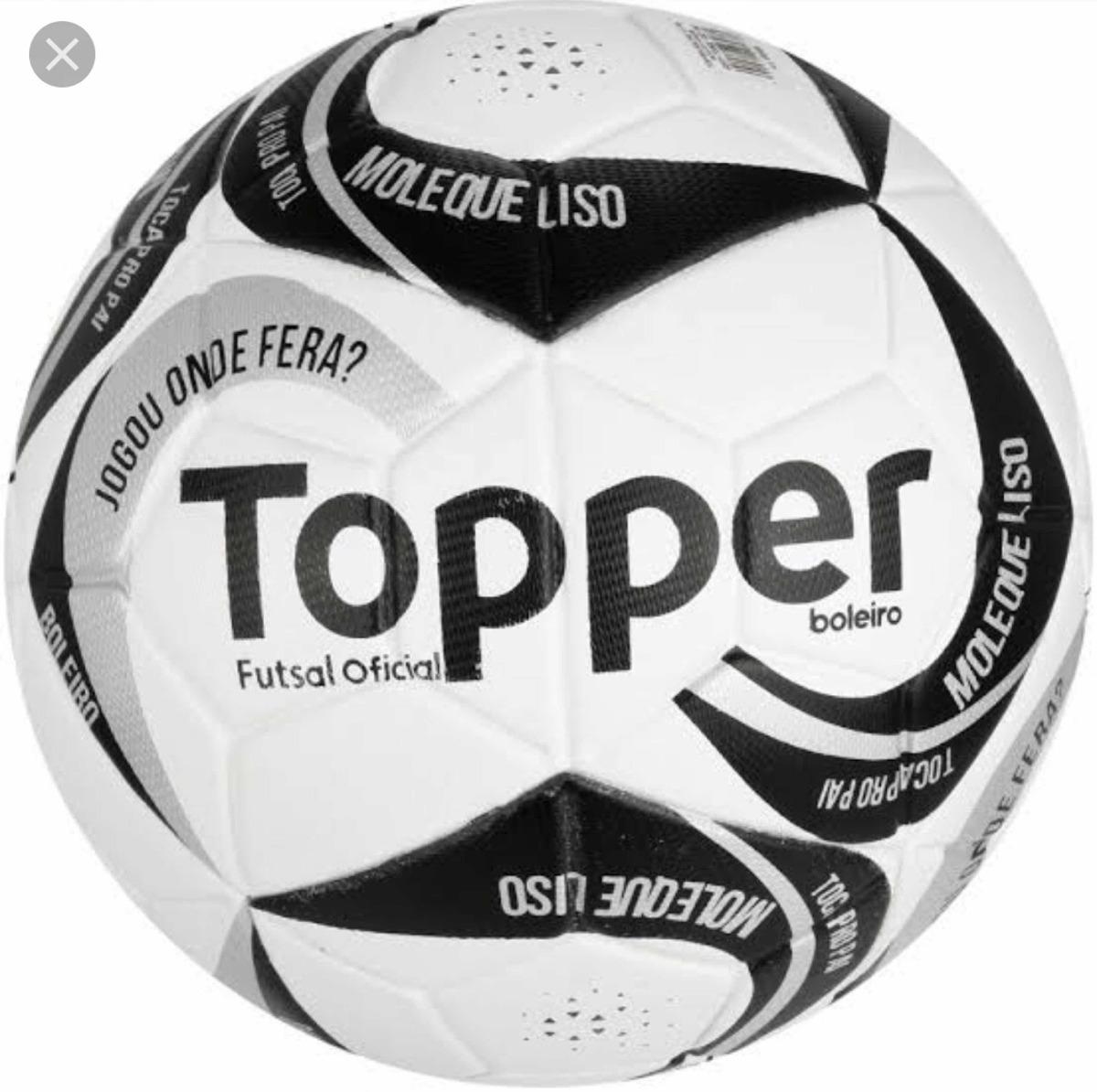 0fe3014924 Bola Topper Boleiro Futsal Verde ( Jogou Onde