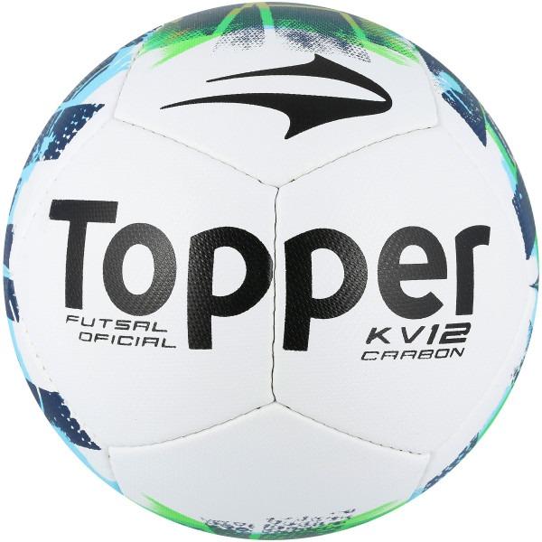 dc6bbdbb5ca0a Bola Topper Futsal Kv 12 Carbon Original 1magnus - R  135