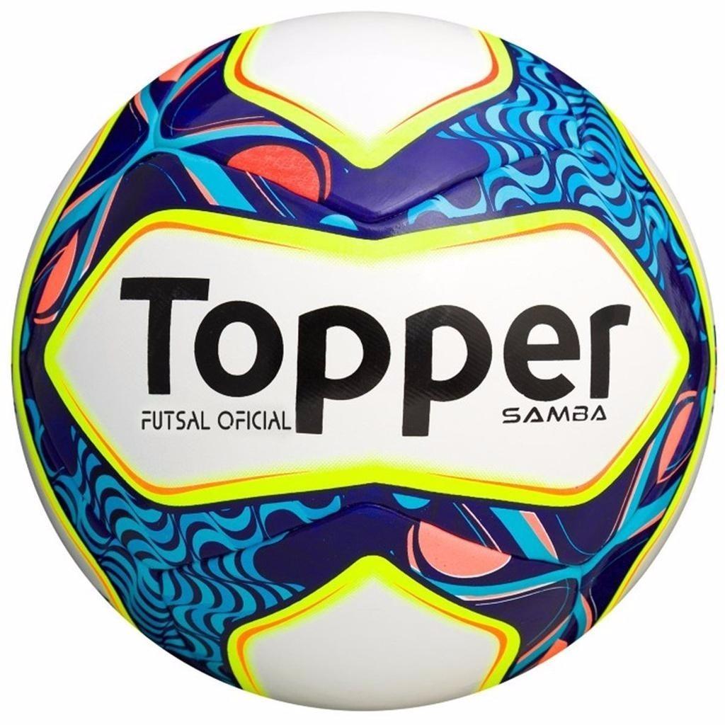 4b21fa6291 bola topper futsal oficial samba rio futebol de salão top. Carregando zoom.