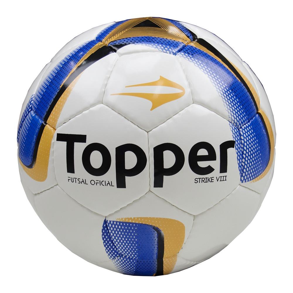 35621f6820 bola topper futsal strike 8 com costura original 4138008. Carregando zoom.