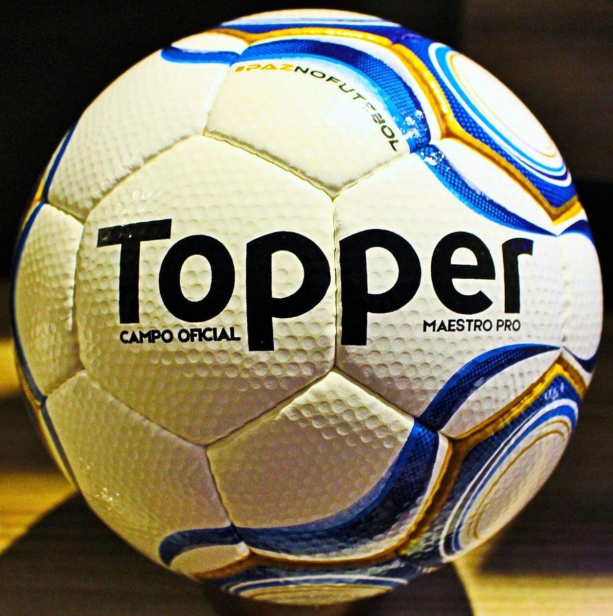 2609d6d6084ad Bola Topper Maestro Pro Brasileirão 2018 Série B Original - R  289 ...