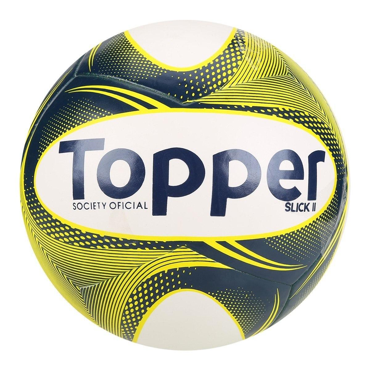 Bola Topper Slick Ii Society Cor 310 Amarela - Topper - R  39 d6541e7424fac