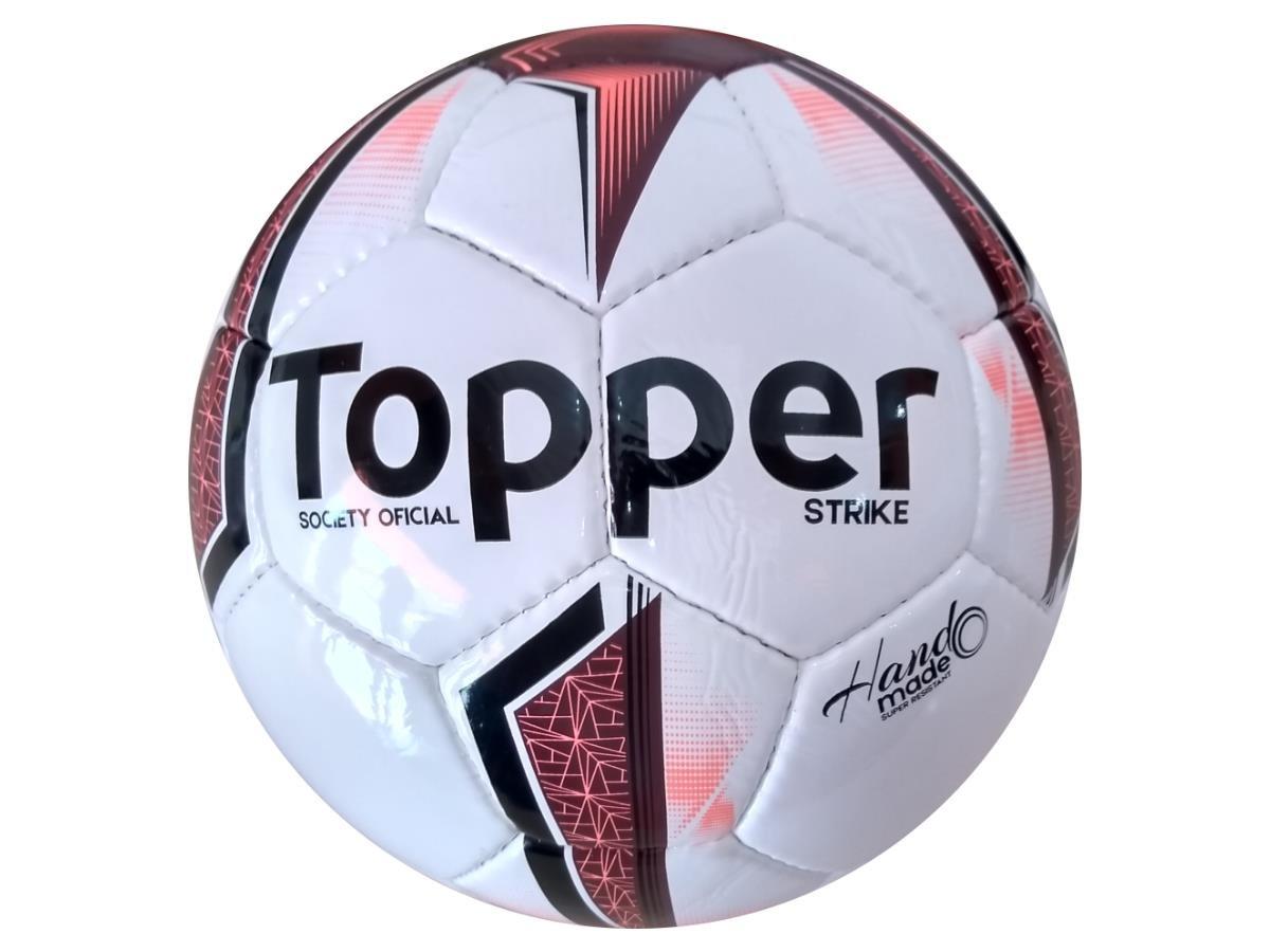 d2011b1e7e bola topper strike campo society tamanho oficial original. Carregando zoom.