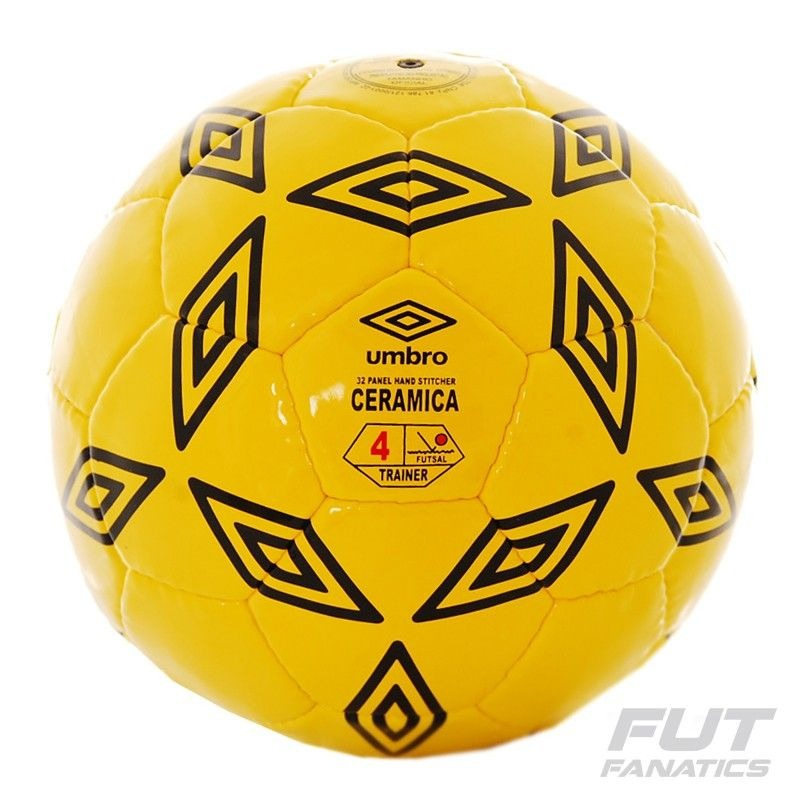 bola umbro ceramica futsal amarela - tamanho 4 - futfanatics. Carregando  zoom. 780b00b092969
