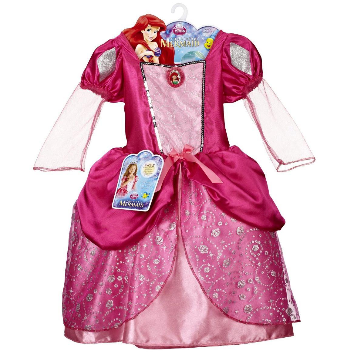 Bola Vestido De Princesa De Disney Ariel Pink Bling - $ 1,500.00 en ...