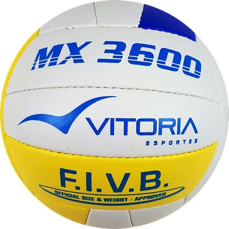 Bola Vôlei Oficial Vitoria Mx 3600 Pu Costurada - R  49 cb49329b3a23f