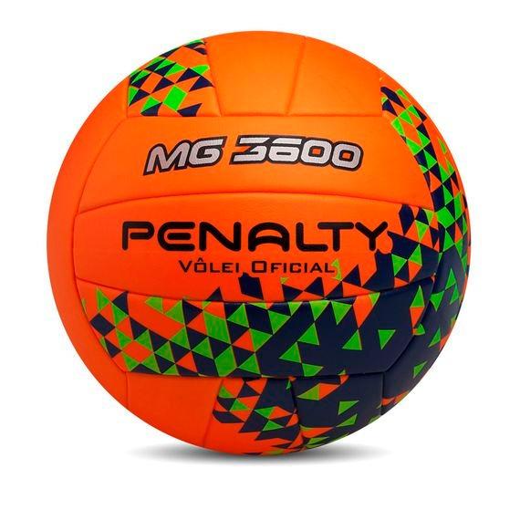 f0e15cbe1e Bola Vôlei Penalty Mg 3600 + Rede 4 Faixas Alg + Bomba Poker - R  249