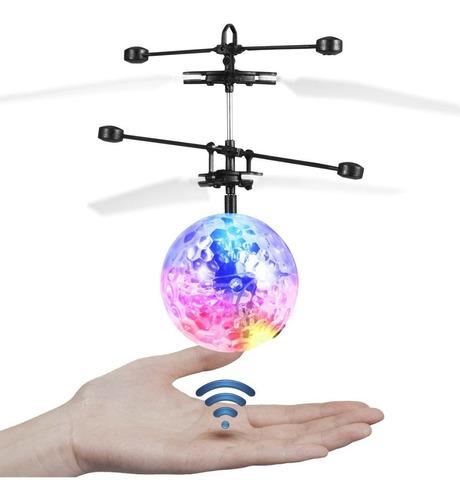 bola voladora mágica con luces led drone avión navidad 2018