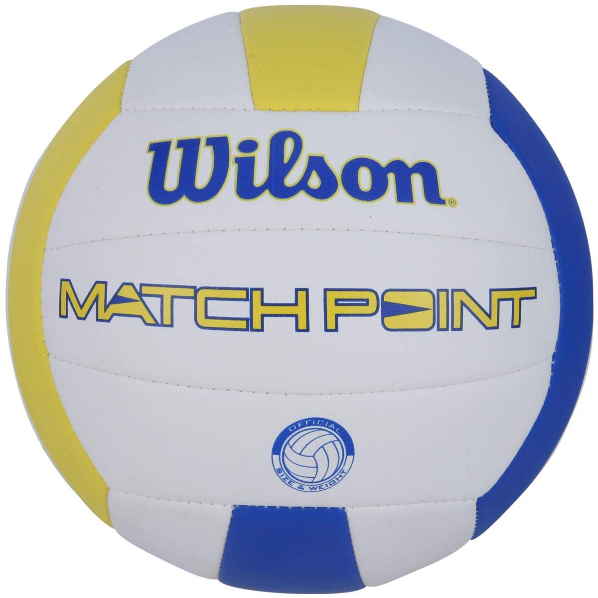 b1b20d5ce bola volei de praia wilson match point - branca. Carregando zoom.