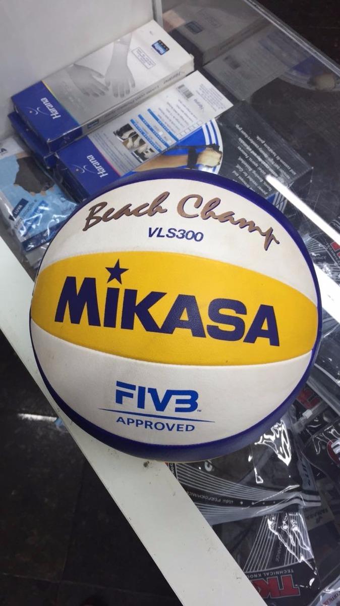 7a383c5d29c1d Bola Volei Praia Mikasa Vls 300 Profissonal Oficial Original - R  365