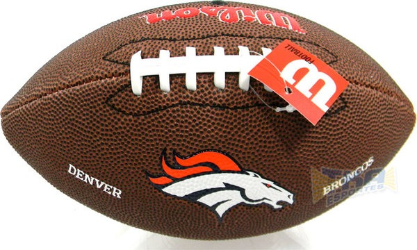 dbb0bb2a42 Bola Wilson Futebol Americano Denver Broncos - R  89