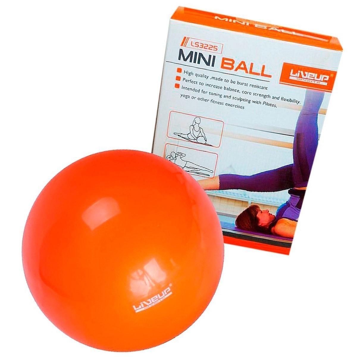 bola yoga pilates fisio overball liveup 25cm laranja. Carregando zoom. f02cd12fe282a