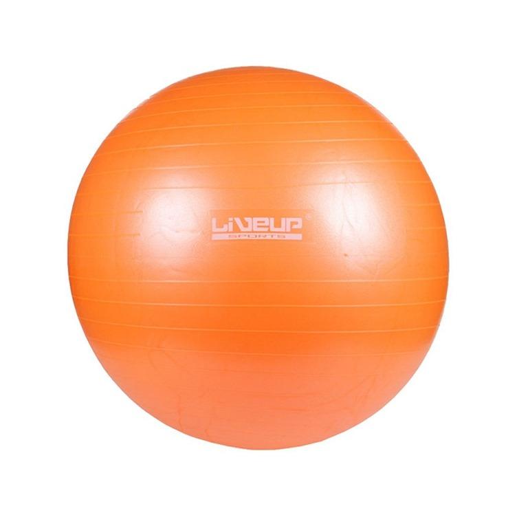 Bola Yoga Pilates Fisio Overball Liveup Ls3225 25cm Laranja bbba5d64fe944