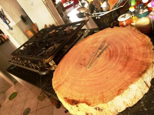 bolachas de toras de madeira tabua de churrasco cepo