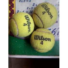 3989d7843 Bola De Tenis Wilson Usada - Bolas