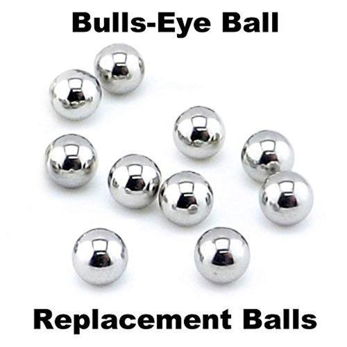 bolas de acero repuesto tiger   hasbro bulls-eye ball 10