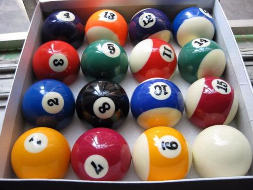 bolas de billas profesional x mayor y menor