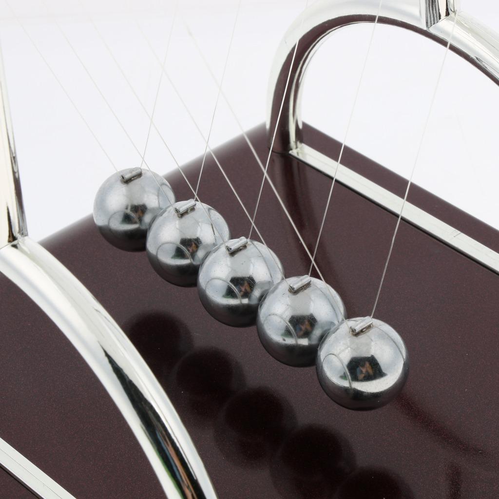 Fockety Excelente Bola de Equilibrio de Newton Estudio de Adornos en el hogar Juguete cient/ífico de Bolas