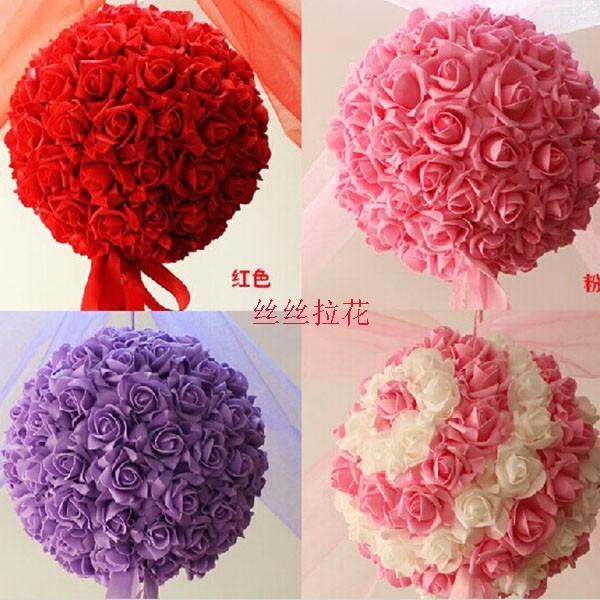 Bolas de flores de papel crepe para topiarios bodas - Como hacer cadenetas de papel para fiestas ...