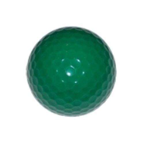 bolas de golf de color verde pino (en blanco): adecuado para