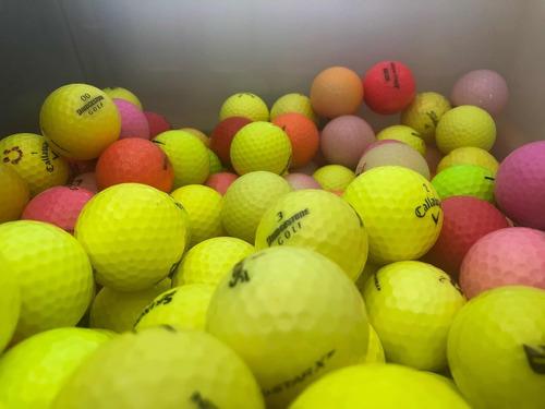 bolas de golf de colores usadas 30