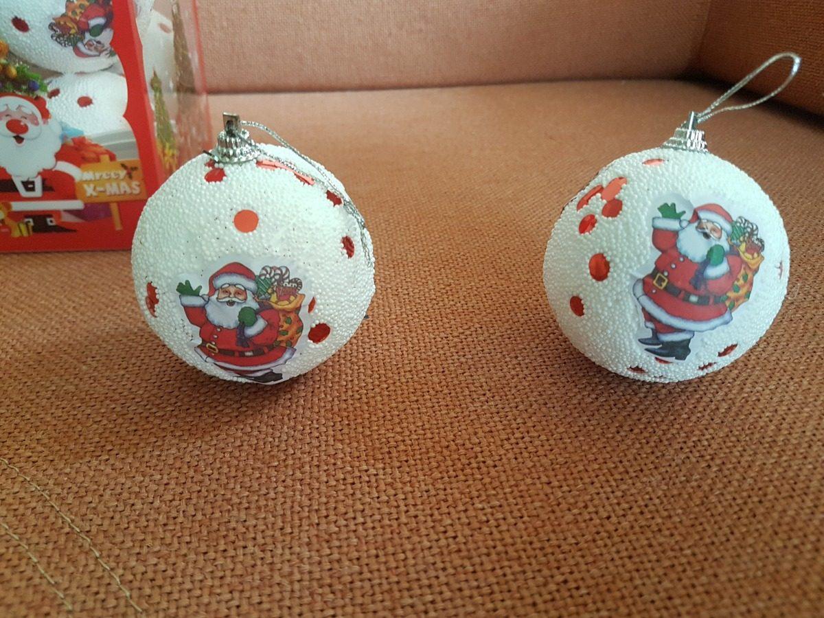 38668dfd604 Bolas De Navidad Decoradas 7 Cm Diametro Caja X 12 -   29.500 en ...