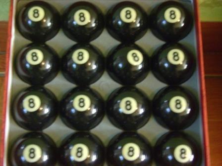 bolas de pool sueltas $85