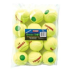 Bolas De Tenis De Baja Compresion De Punto Verde De Tourna