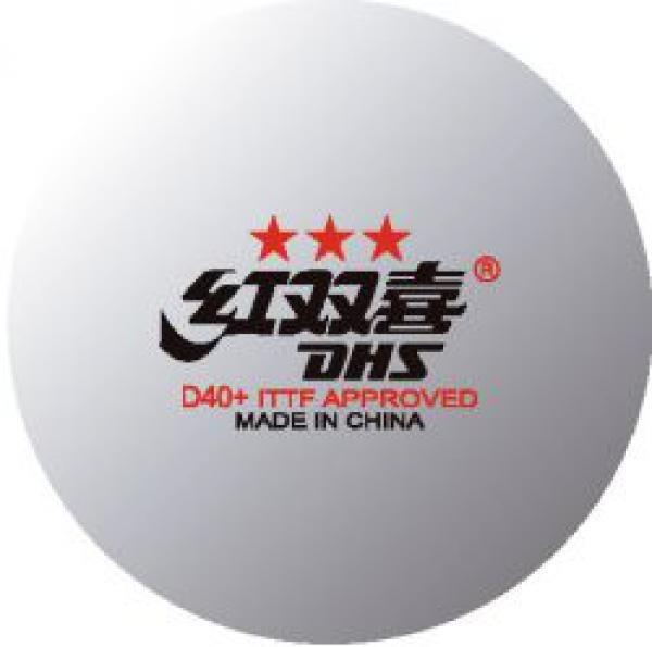 c46fafe4d Bolas De Tênis De Mesa Dhs D40+ Abs 3 Estrelas Ittf - R  4