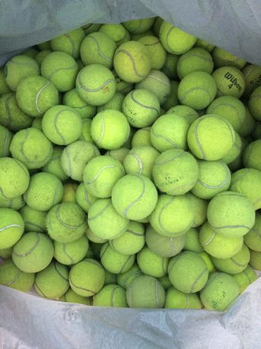 bolas de tênis usadas