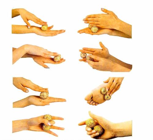 bolas  energetica metalicas chinas salud  bienesar  masajes