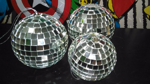 bolas esfera espejo disco deco 70 cms retro